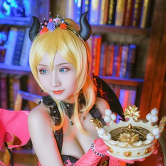 《Lovelive》绘里小恶魔cosplay