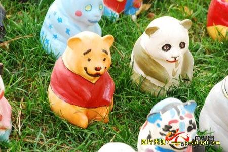 北京动物园2009个手绘熊猫惊现cosplay盛会!