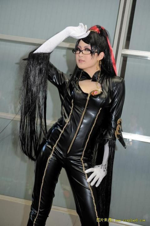 猎天使魔女华丽cosplay