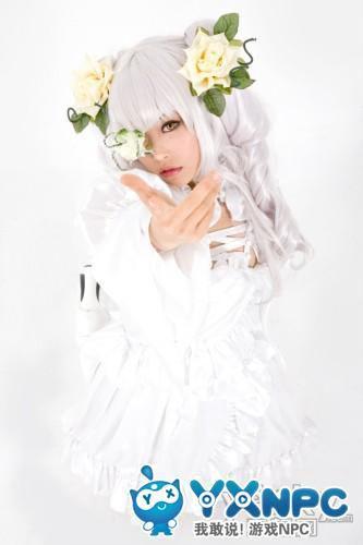 《蔷薇少女》雪华绮晶cosplay