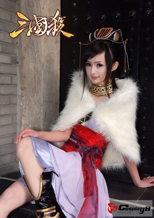 游戏资讯_萌女孩cosplay《三国杀》甄姬_Cosplay中国