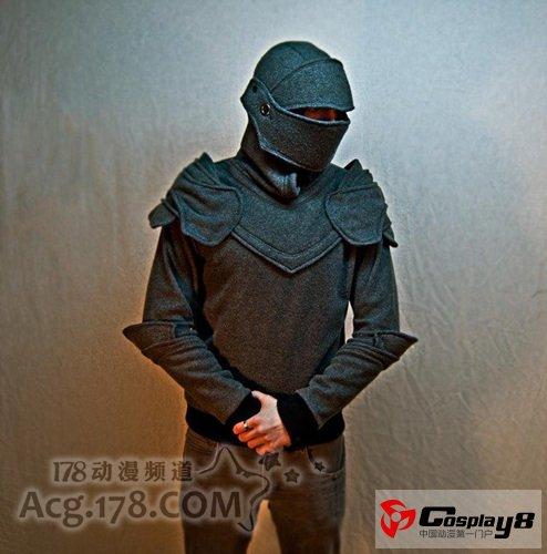 国外手工制作龙型背包&日常盔甲卫衣欣赏