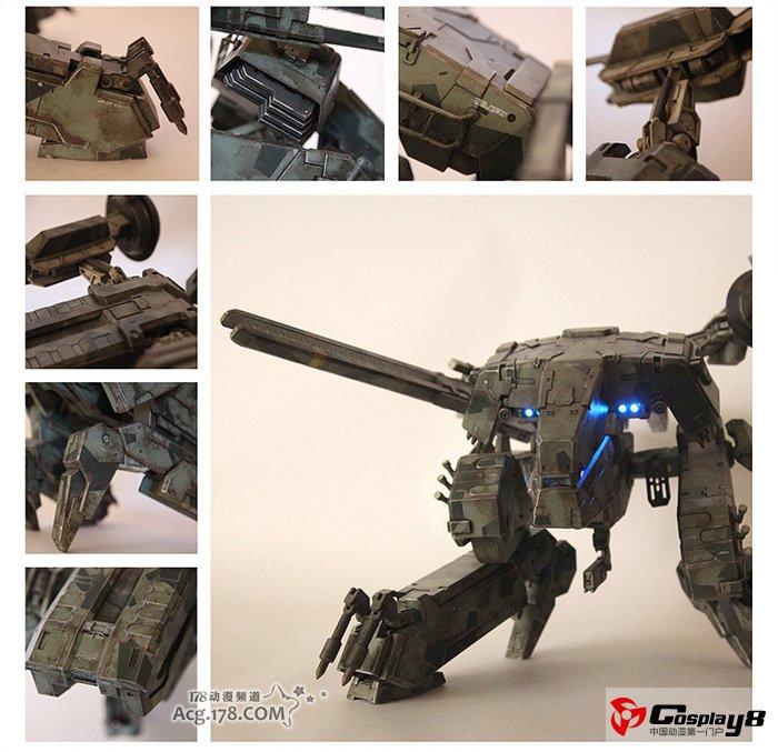 动漫火影mm福利漫画_乐高达人打造二足步行战车MG-REX可动模型(5)_Cosplay中国