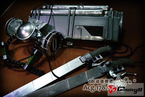 """立体中国论坛_技术宅做出现实版""""立体机动装置""""(2)_Cosplay中国"""