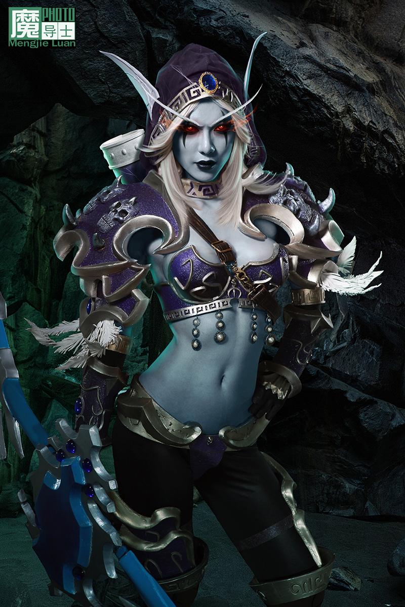 魔兽世界希尔瓦娜斯cosplay