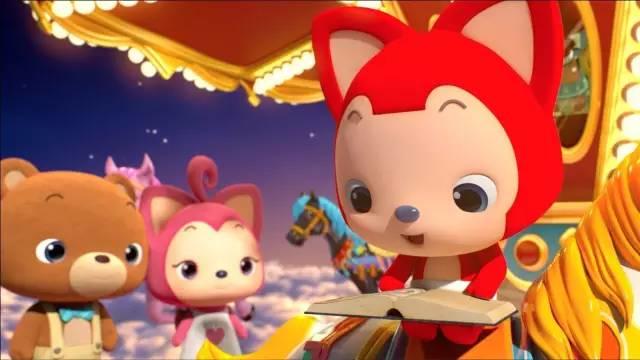 携手与阿狸一起,将阿狸首部3d动画 《阿狸布塔》精彩呈现给用户, 上线