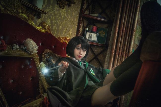 《哈利·波特》潘西·帕金森cosplay(6)