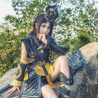 《剑网三》苍云萝莉cosplay