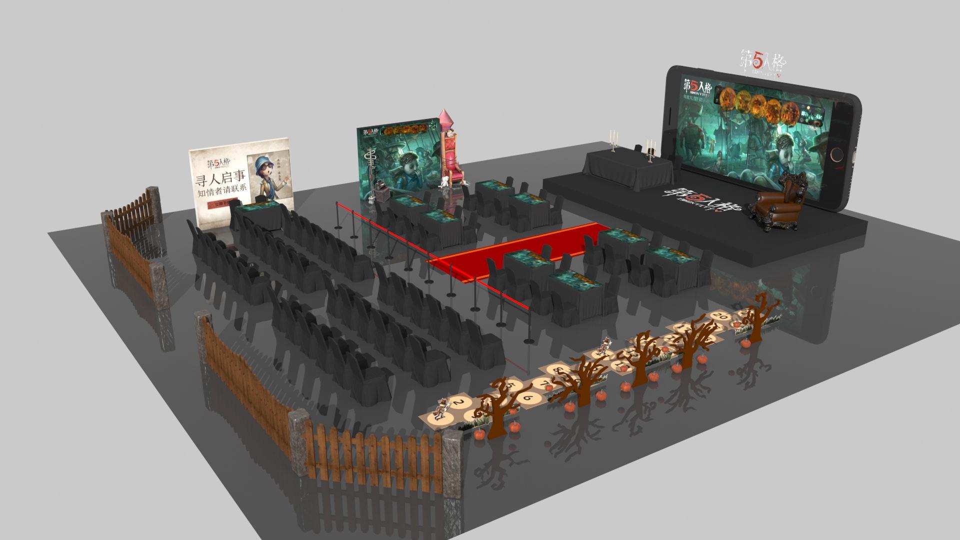 2018年《第五人格》红博·西城红场艺术长廊冰雪动漫节城市挑战赛火热