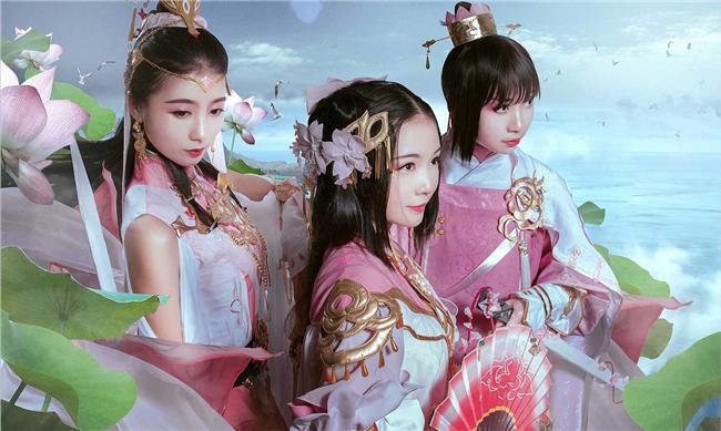 《剑网叁》燕云七秀cosplay 天涯海角,入眼人间