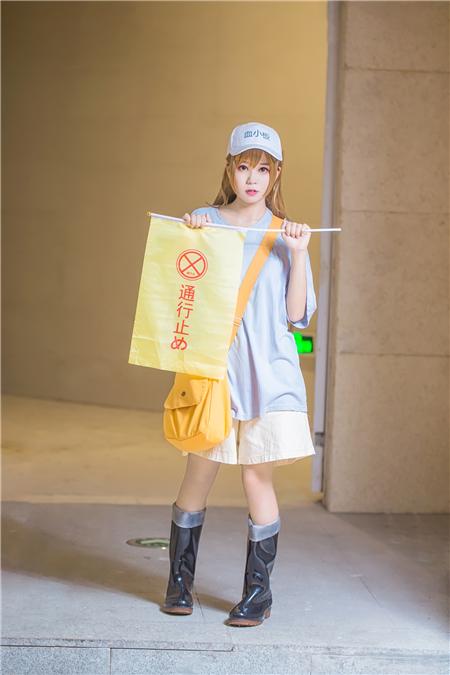 《工作细胞》血小板cosplay