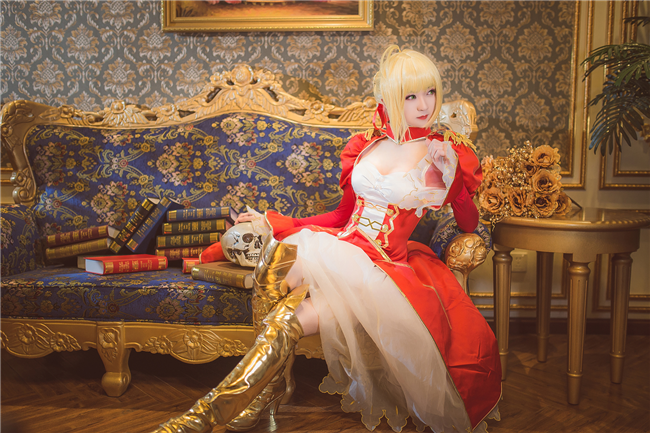 《fate》尼禄cosplay