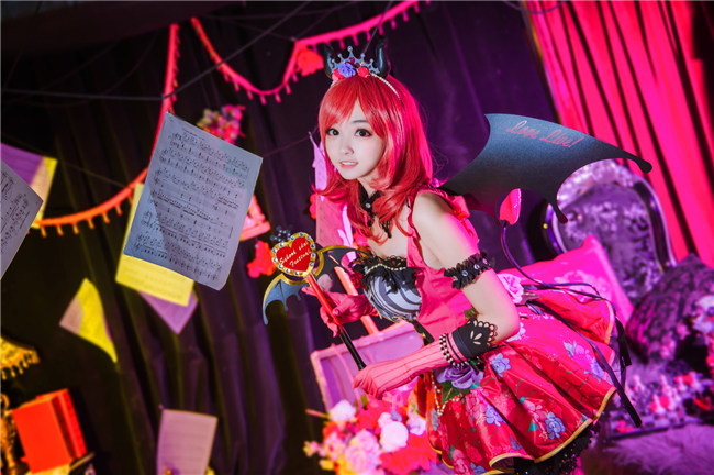 《LoveLive!》小恶魔真姬cosplay