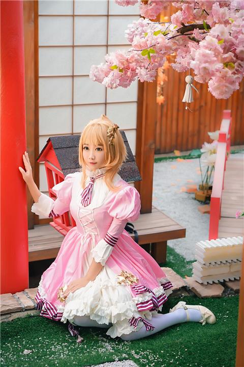 魔卡少女樱 同人洋装cosplay