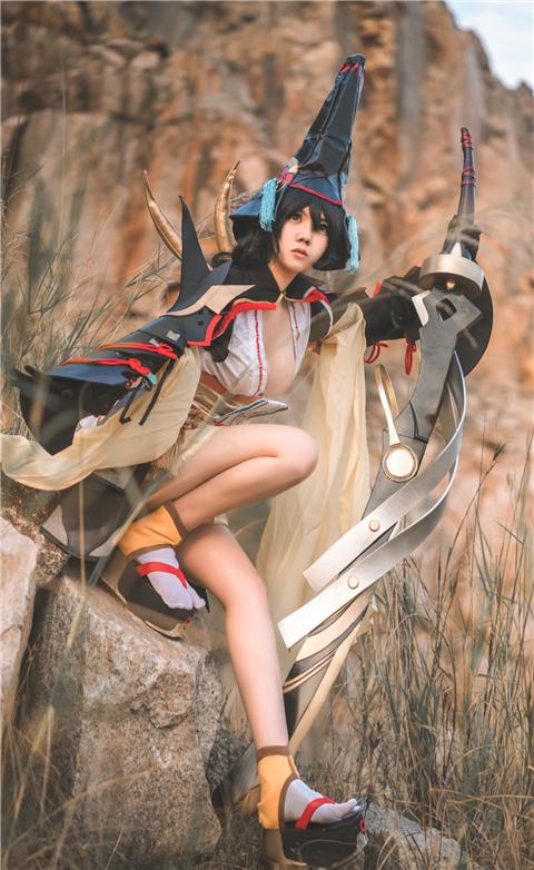 《阴阳师手游》妖刀姬cosplay