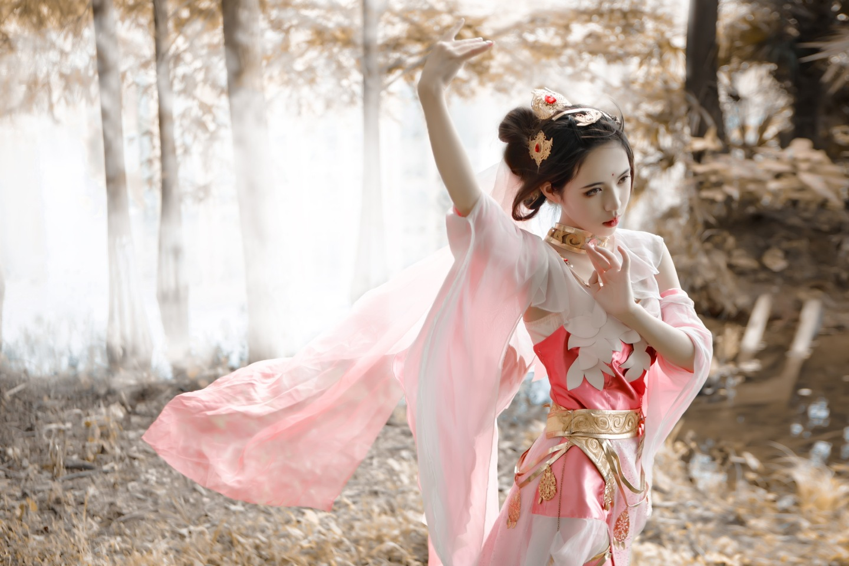 剑网三秀姐cosplay