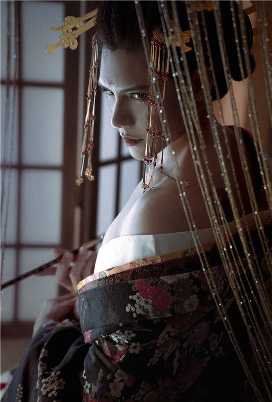 恶女花魁cosplay