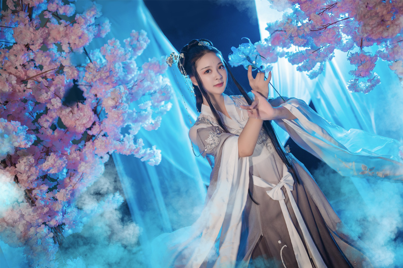 天涯明月刀·移花·明玉冰心cosplay