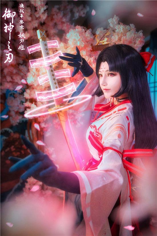 决战平安京 妖刀姬cosplay