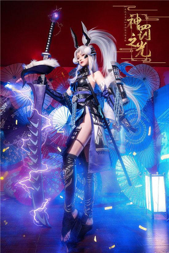 决战平安京 妖刀姬神罚之光cosplay插图(3)