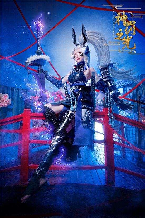 决战平安京 妖刀姬神罚之光cosplay插图(5)