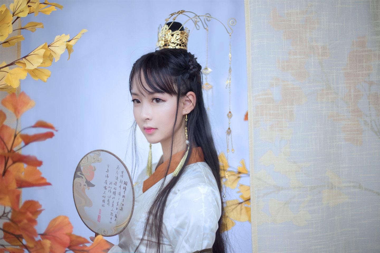 天涯明月刀x故宫联动·方寸·云中三希堂cosplay