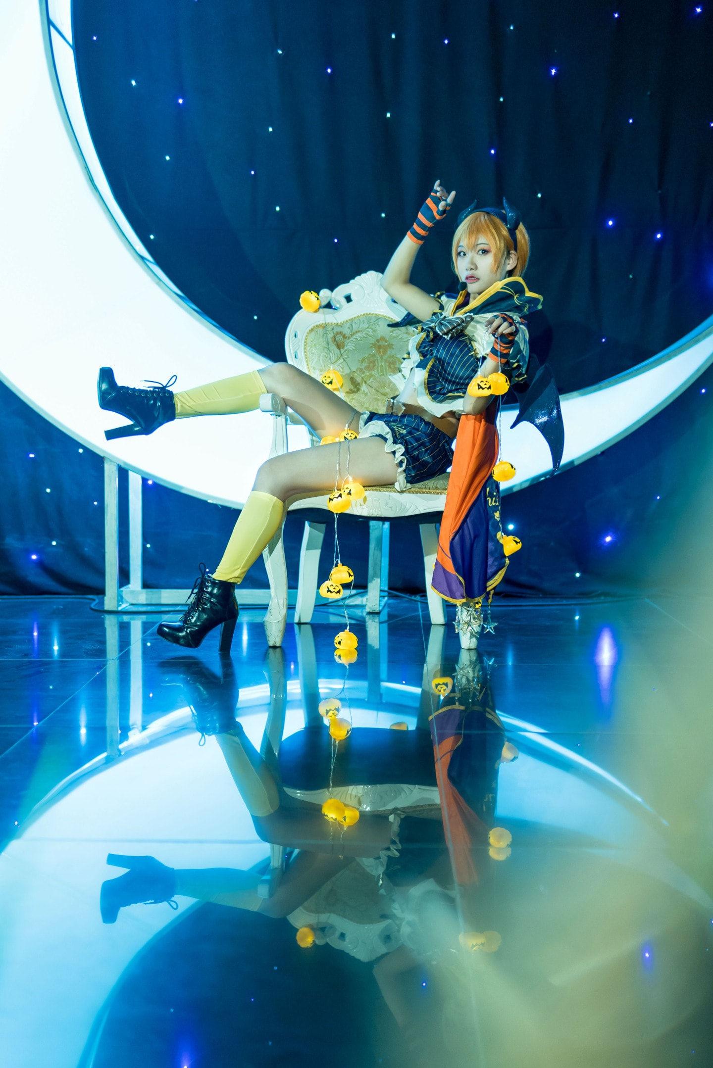 LOVE LIVE星空凛cosplay