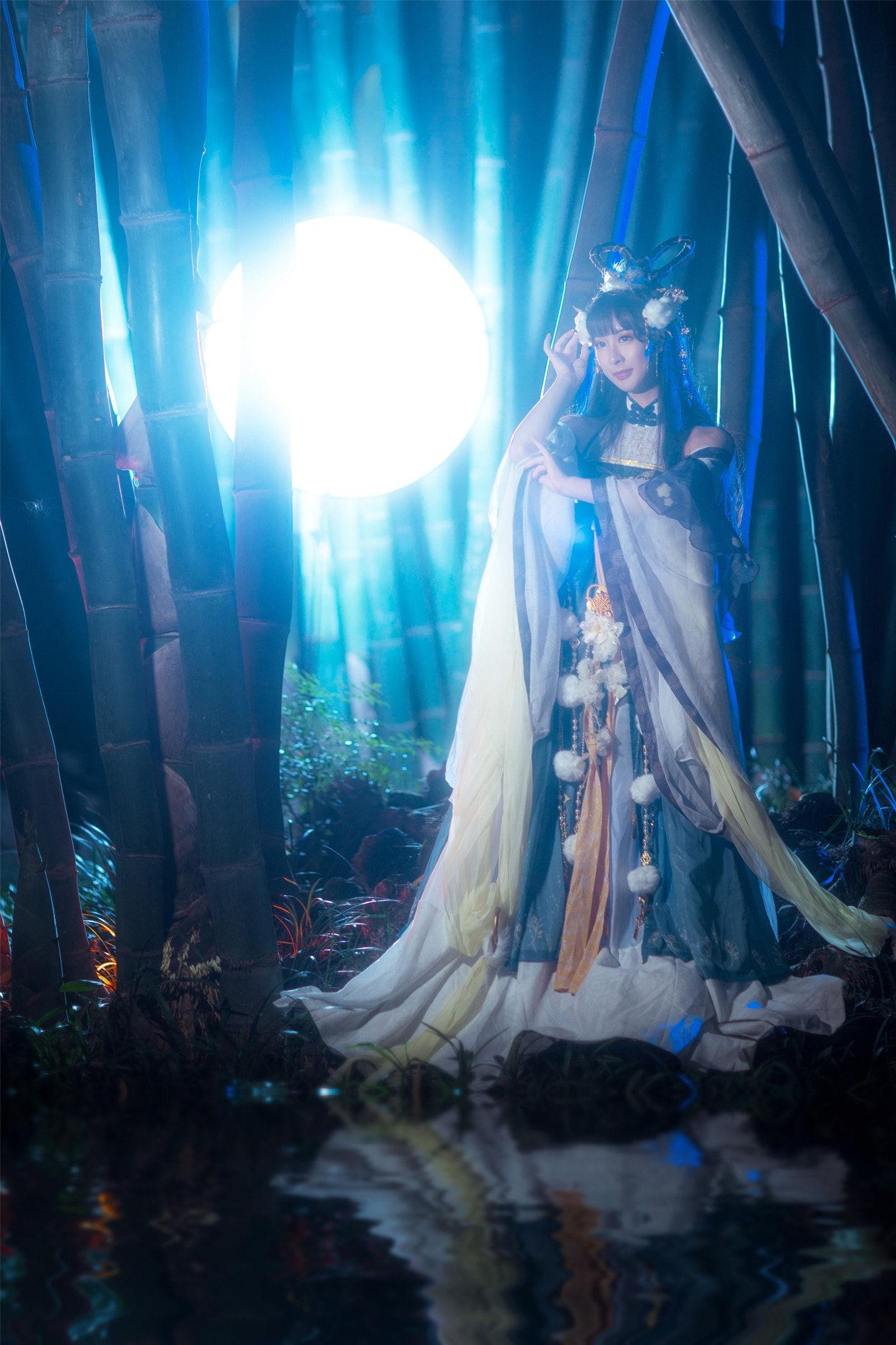 奇迹暖暖·夕月潇湘cosplay