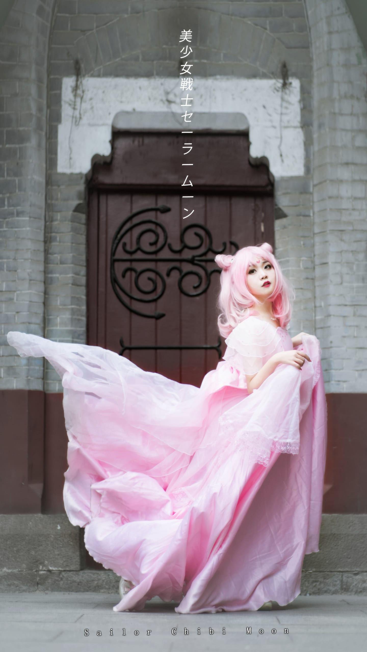 《美少女战士》小小兔插画礼服cosplay插图(1)