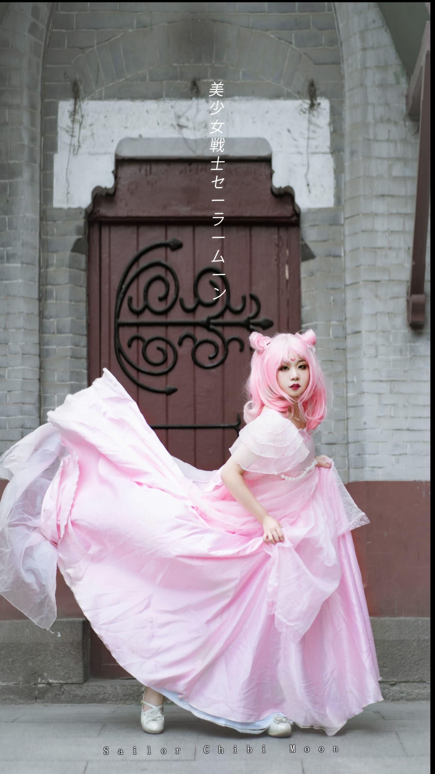 《美少女战士》小小兔插画礼服cosplay插图(3)