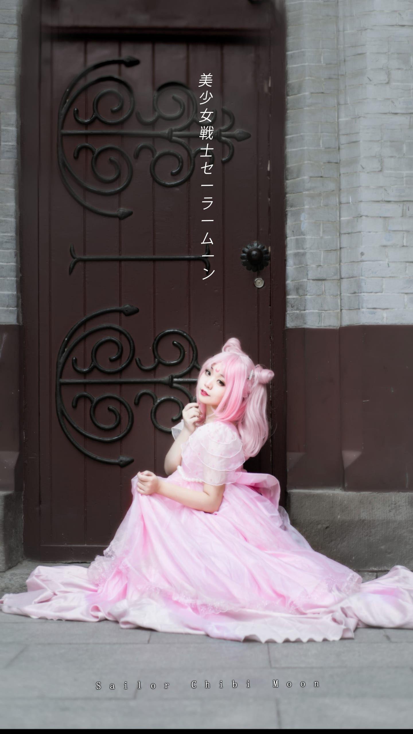 《美少女战士》小小兔插画礼服cosplay插图(4)