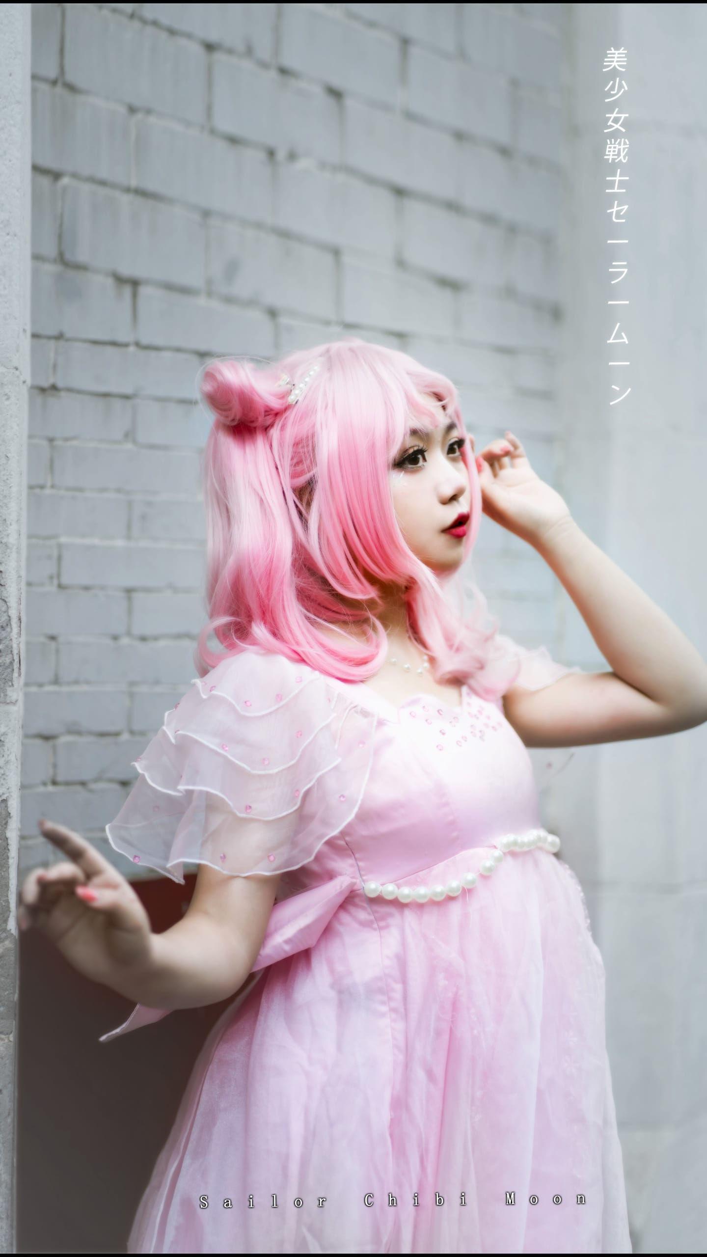 《美少女战士》小小兔插画礼服cosplay插图(6)