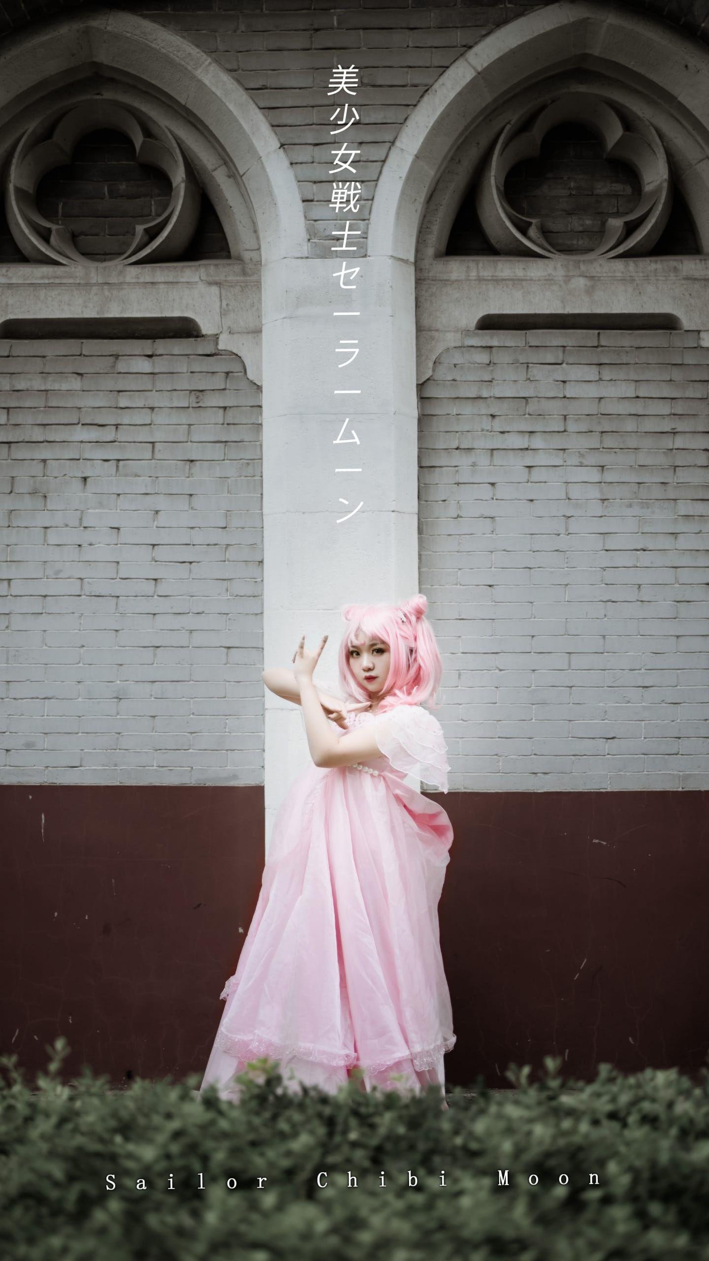 《美少女战士》小小兔插画礼服cosplay插图(7)