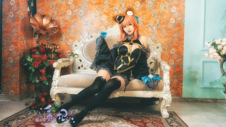 玉藻前漆黑魔术师cosplay