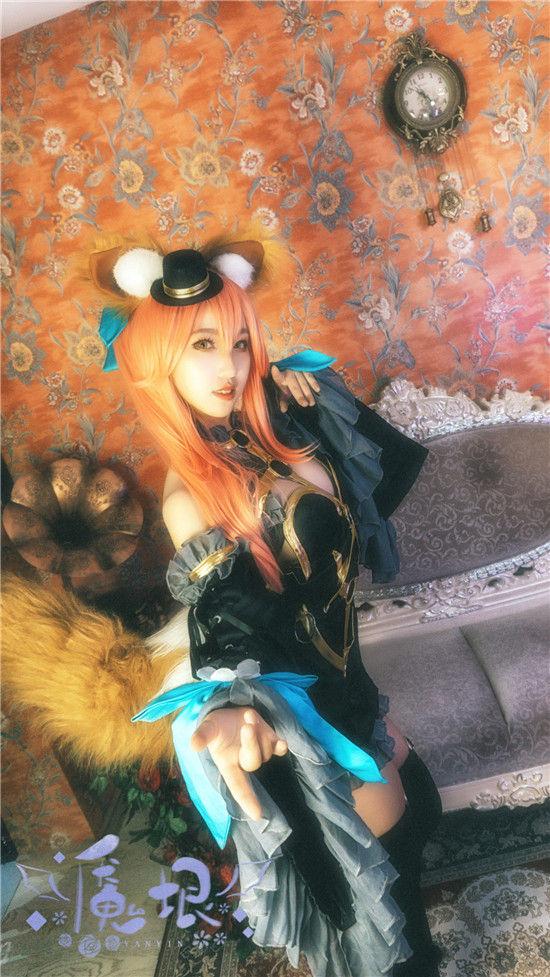 玉藻前漆黑魔术师cosplay插图(4)