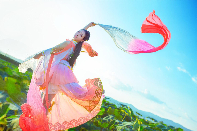 天涯明月刀·心王·锦鲤抄cosplay插图(2)