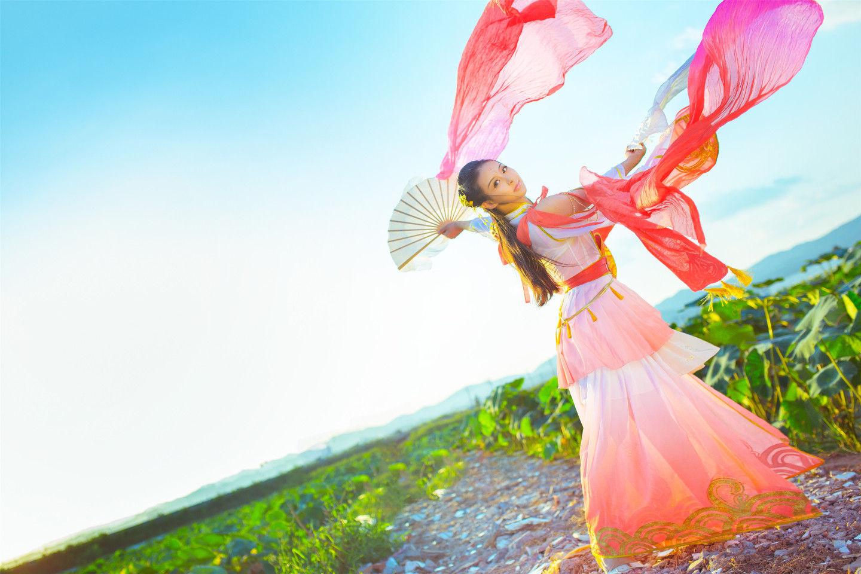 天涯明月刀·心王·锦鲤抄cosplay插图(4)