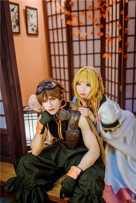 魔卡少女樱 小狼小樱cosplay插图(2)