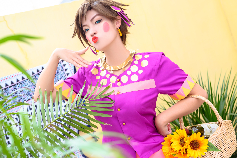 JOJO的奇妙冒险 战斗潮流 龙舌兰姑娘cosplay