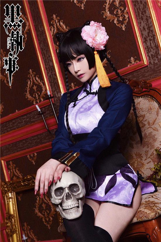 黑执事 蓝猫cosplay插图