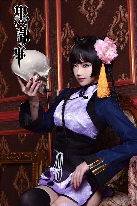 黑执事 蓝猫cosplay