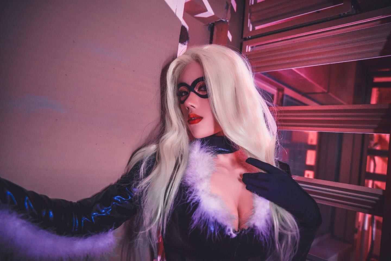 漫威黑猫:菲丽西亚.哈代cosplay插图(1)
