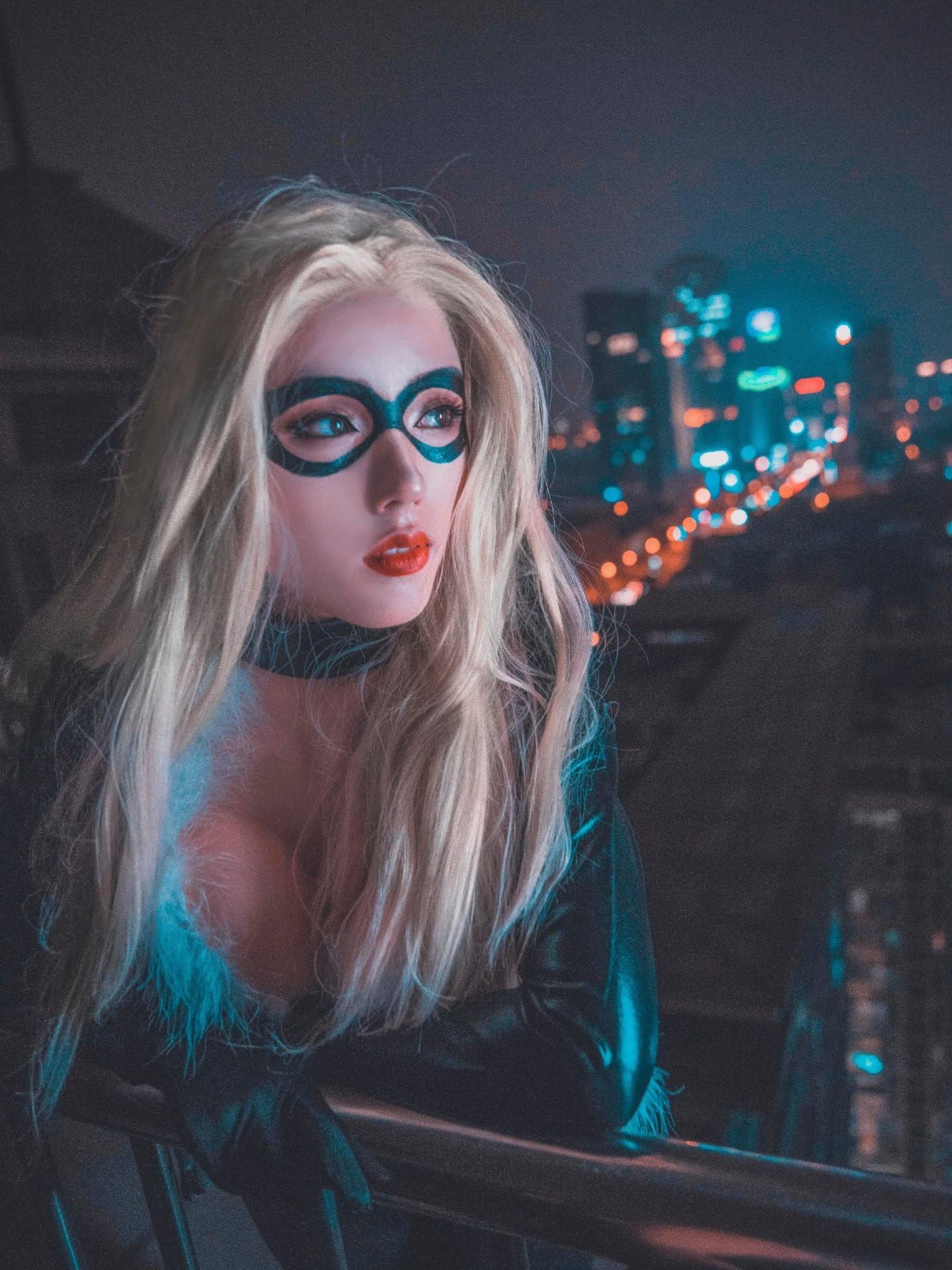 漫威黑猫:菲丽西亚.哈代cosplay插图(7)