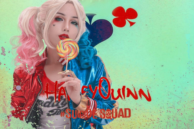 小丑女哈莉奎茵cosplay插图(2)