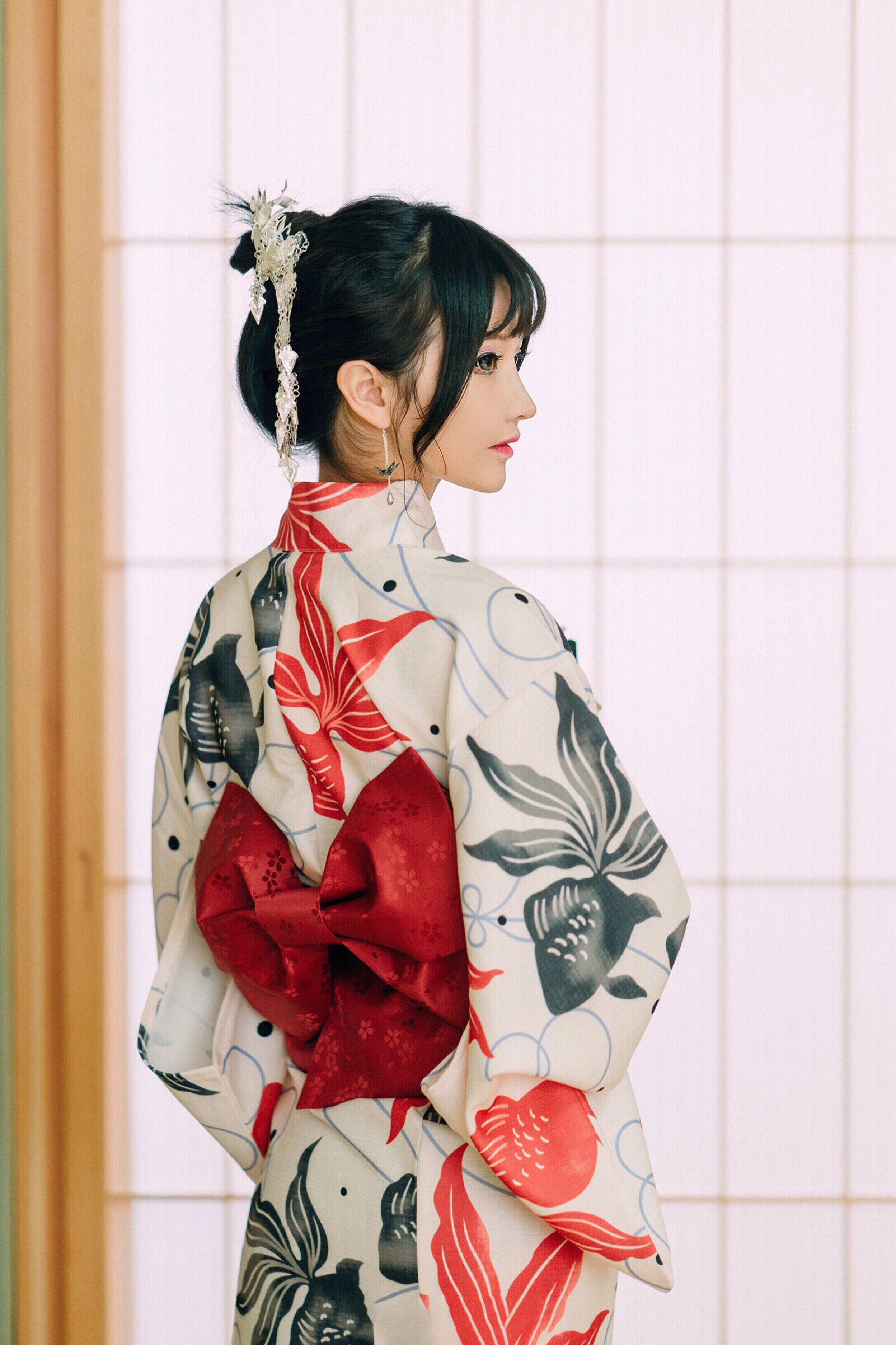日本和服浴衣