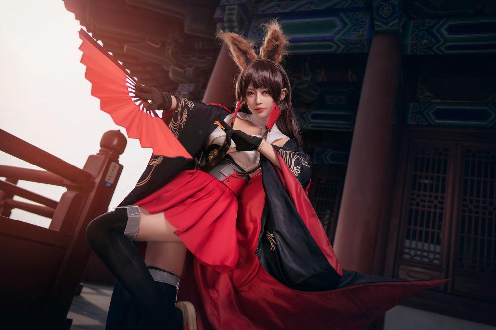 碧蓝航线赤城cosplay插图(4)
