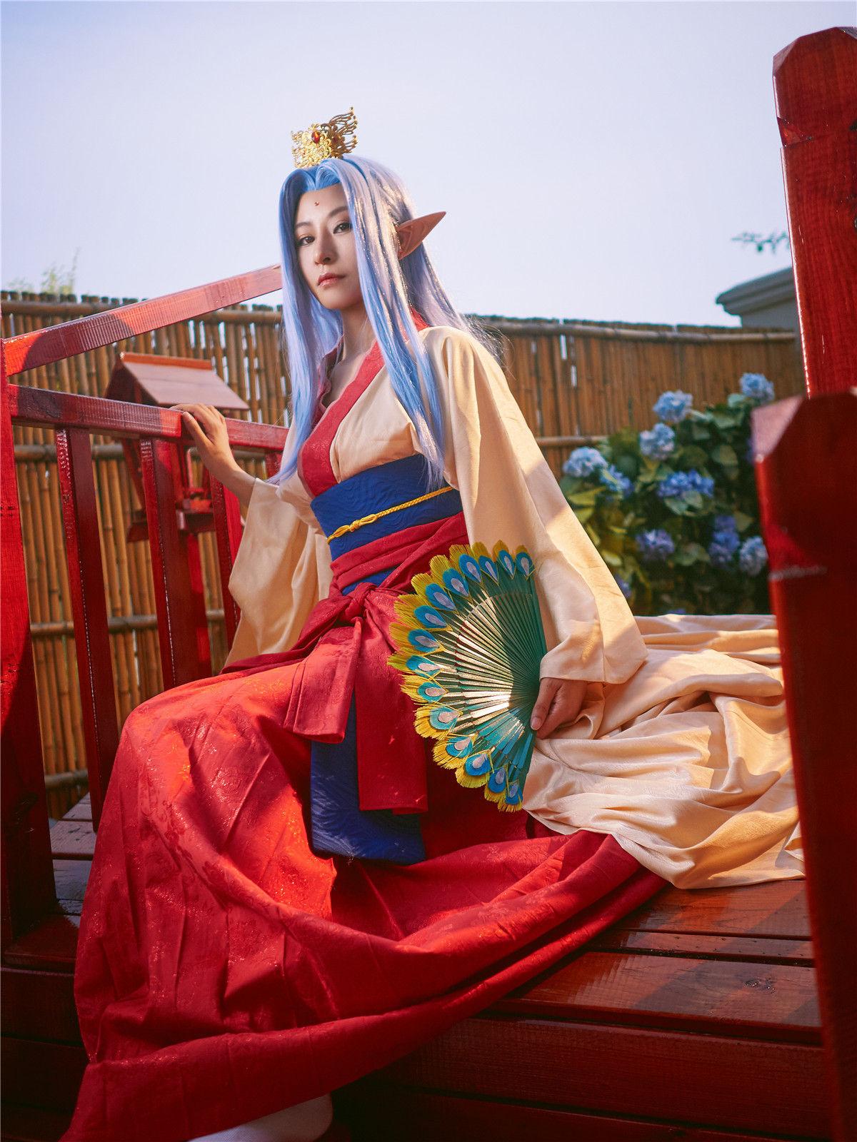 银魂孔雀姬cosplay插图