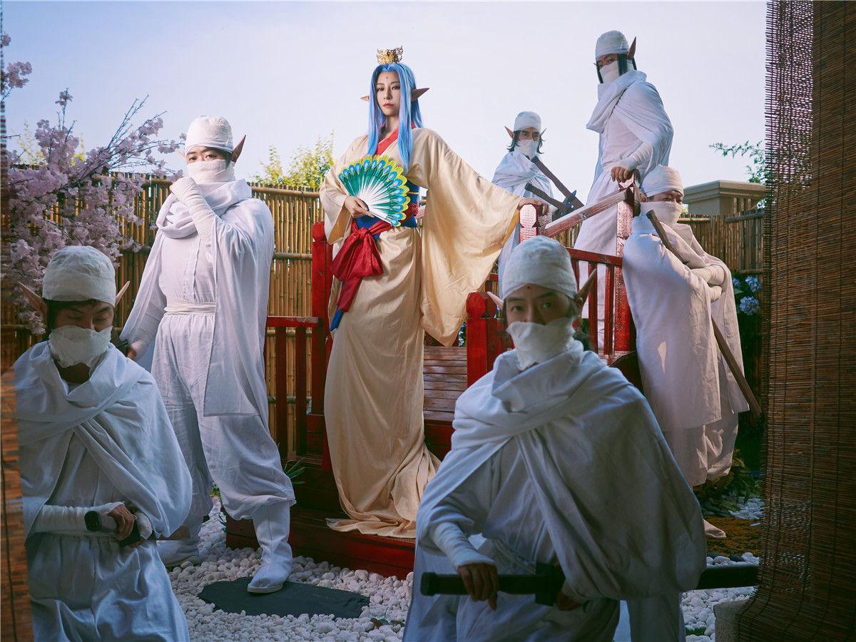 银魂孔雀姬cosplay插图(7)