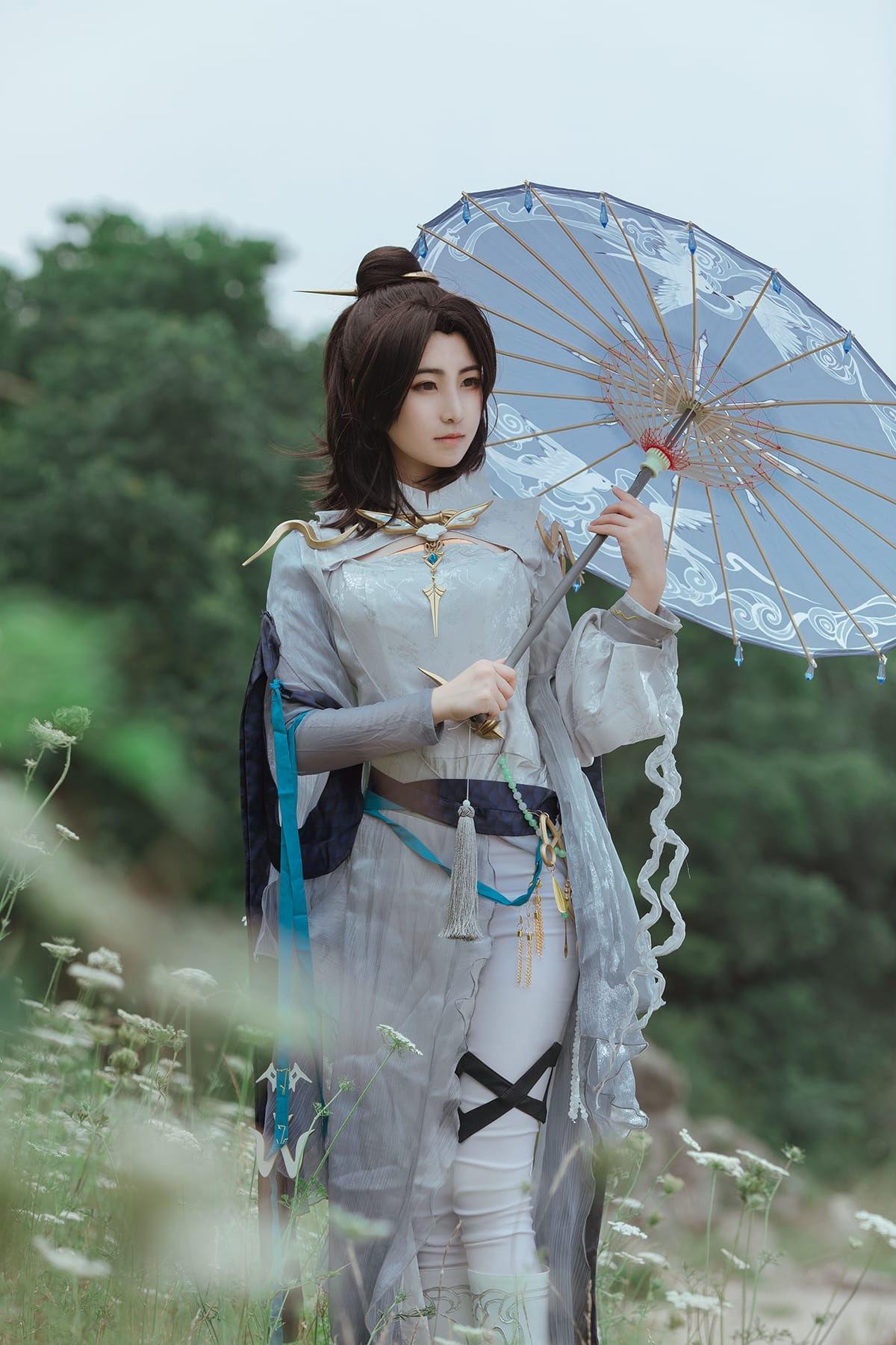 剑网三蓬莱cosplay