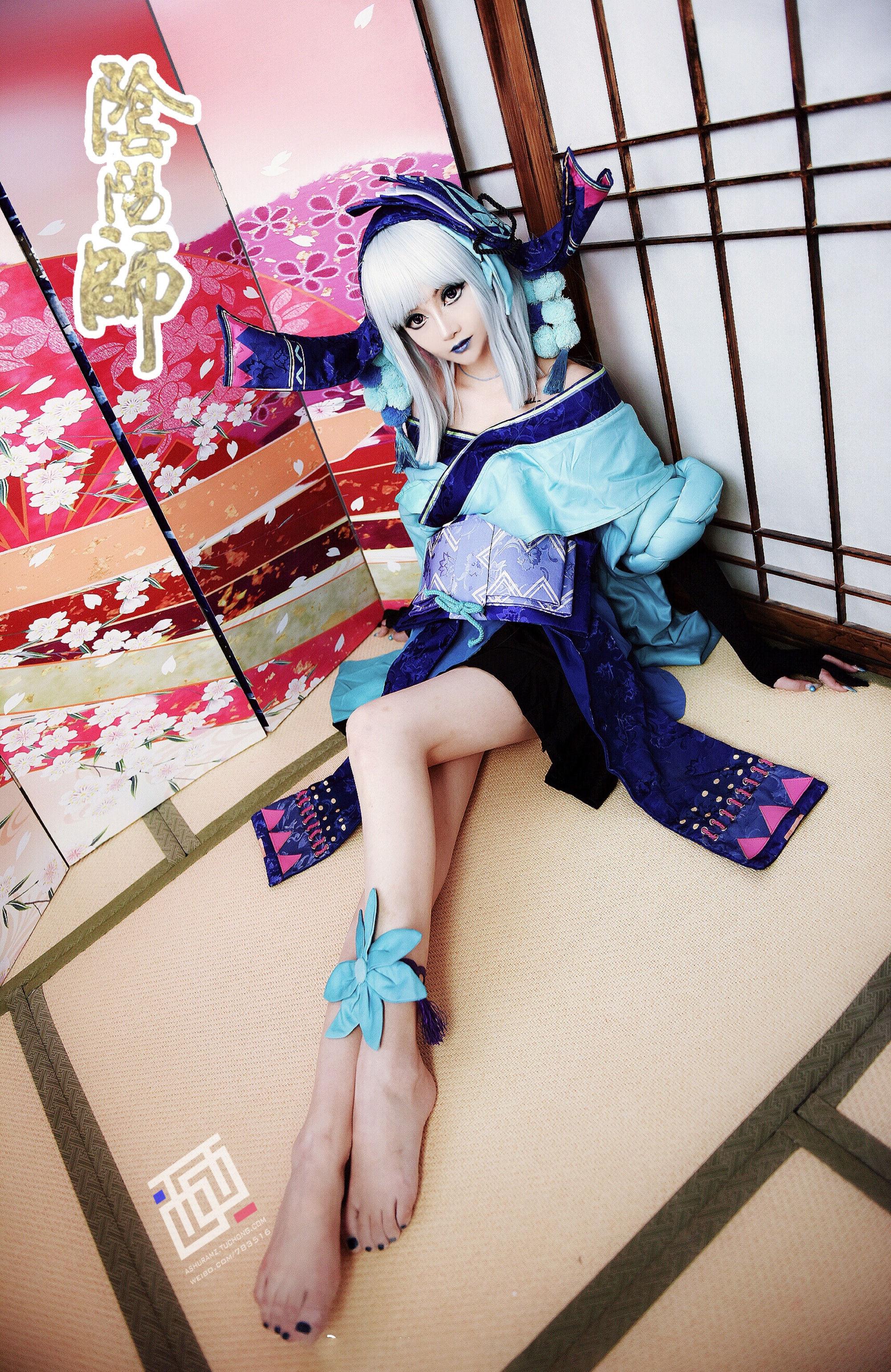 阴阳师青行灯cosplay